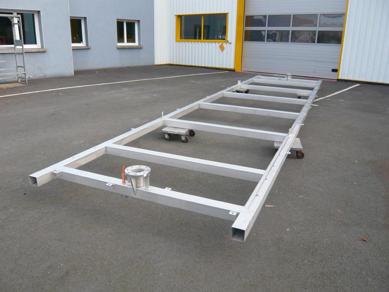 Chassis grutable